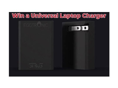 Revolutionary Eggtronic Sirius 65W Universal Laptop Charger Giveaway