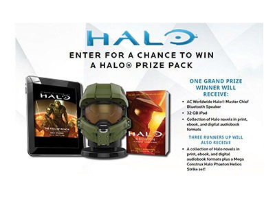 HALO Audiobook Sweepstakes