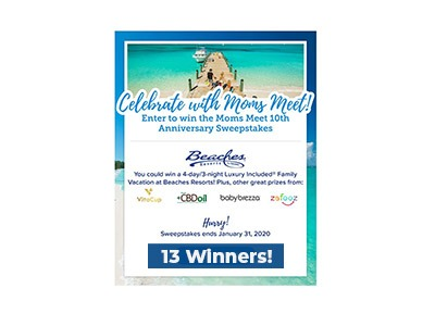 Moms Meet 10th Anniversary Sweepstakes