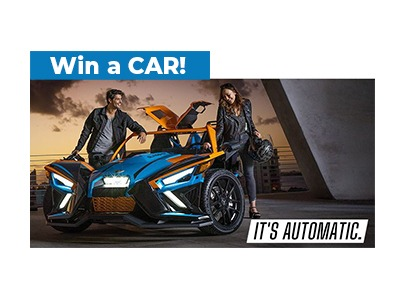 2020 Polaris Slingshot It's Automatic Sweepstakes