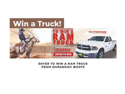 Durango Boots Ram Truck Giveaway