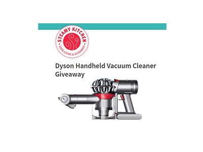 Dyson Handheld Vacuum Cleaner Sweepstakes