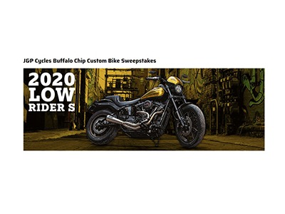 J&P Cycles Buffalo Chip Custom Bike Sweepstakes