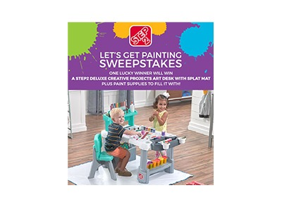 Step2 Let's Get Painting Sweepstakes
