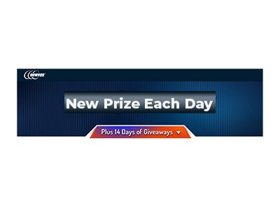 Newegg 14 days of Giveaways