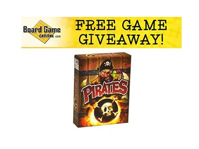 Pirates Card Game Giveaway