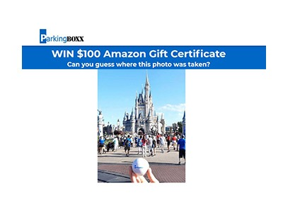 Parking BOXX Amazon Gift Card Sweepstakes