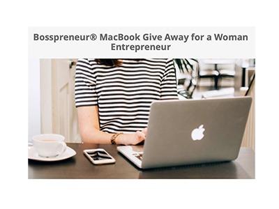 MacBook Laptop Giveaway