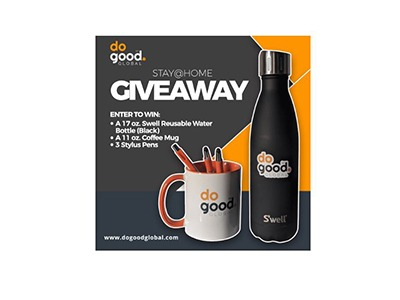 doGood Global Stay@Home Giveaway