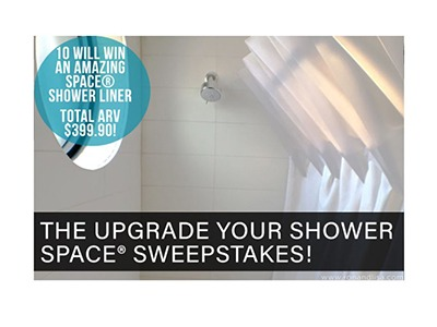 Upgrade Your Shower Space Sweepstakes