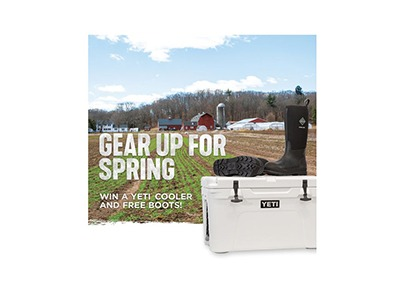 Muck Boots Gear up for Spring Sweepstakes