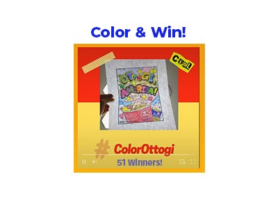 Color and Win Sweepstakes
