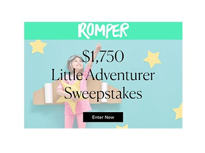 Romper Little Adventurer Sweepstakes