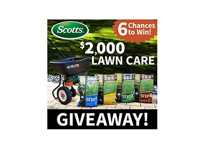 Scotts Lawn Care Giveaway
