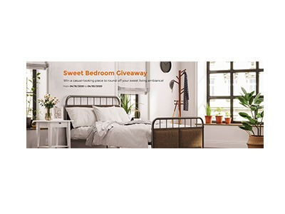 Songmics Sweet Bedroom Giveaway