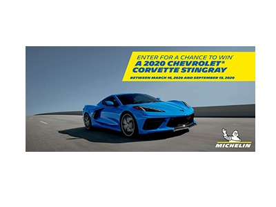 Chevrolet Corvette Stingray Sweepstakes