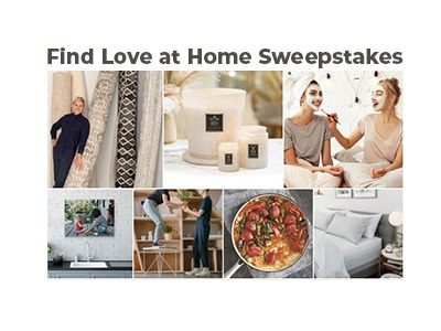 Find Love at Home Sweepstakes