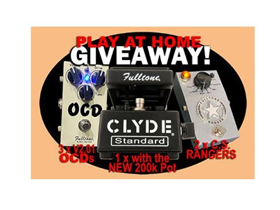Fulltone Play at Home Giveaway