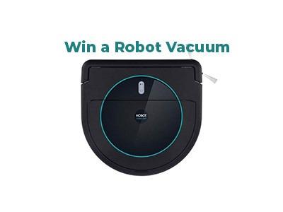 Robot Vacuum & Mop Giveaway
