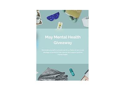 May Mental Health Giveaway