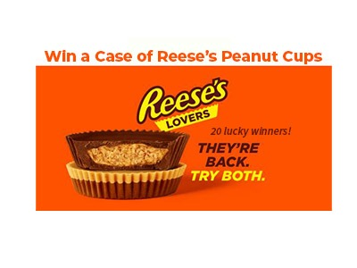 Hershey's Reese's Lovers Sweepstakes