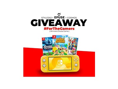 Win a Nintendo Switch Lite Bundle