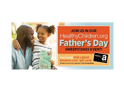 Healthy Children.org Father's Days Sweepstakes 2020