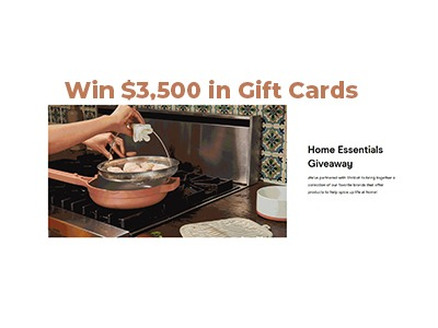 Win a $3,500 Home Upgrade