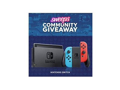 Sweeps Nintendo Switch Giveaway