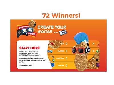 Nutter Butter Instant Win Sweepstakes