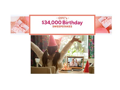 QVC Birthday Sweepstakes