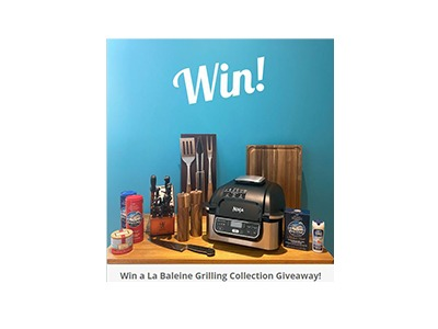 Win a La Baleine Grilling Collection