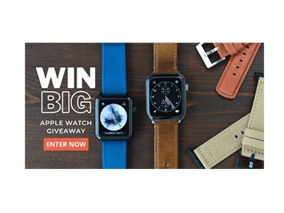 Barton Watch Bands Apple Watch Giveaway