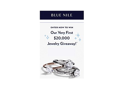 Blue Nile 20K Jewelry Giveaway