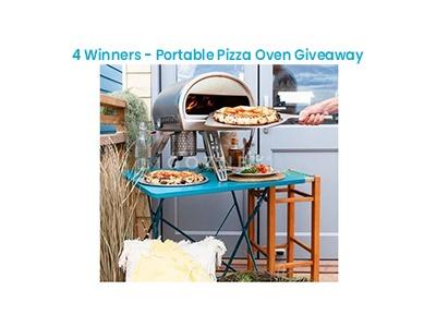 Bob Vila's Portable Pizza Oven Giveaway