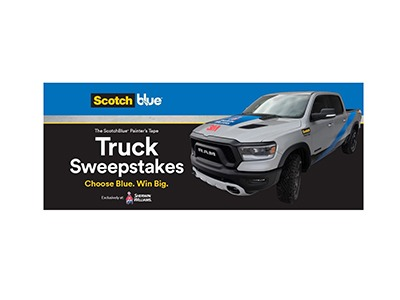 ScotchBlue Painters Tape Trucks Sweepstakes