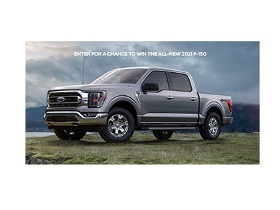 Win a 2021 Ford F-150 Sweepstakes
