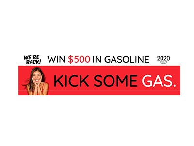$500 Gasoline Gift Card Giveaway