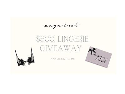 Anya Lust Date Night Giveaway