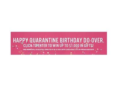 Happy Quarantine Birthday Do-Over