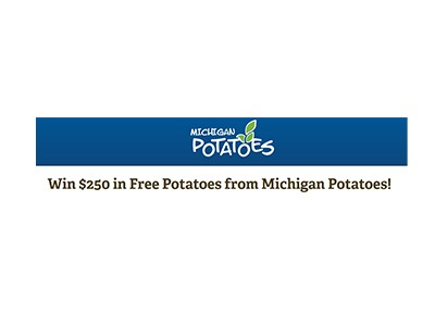Michigan Potatoes Sweepstakes