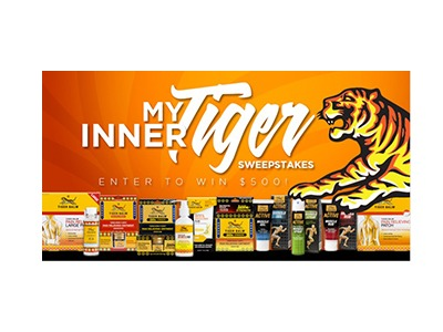 My Inner Tiger Sweepstakes