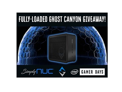 SNUC Gaming Ghost Canyon Giveaway