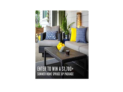 Summer Home Spruce Up Sweepstakes