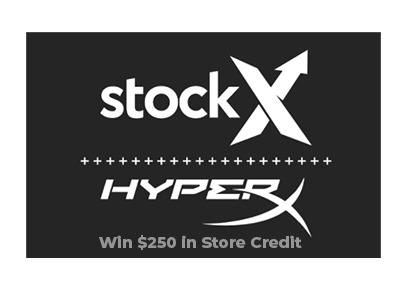 Win $250 in store credit to StockX.com