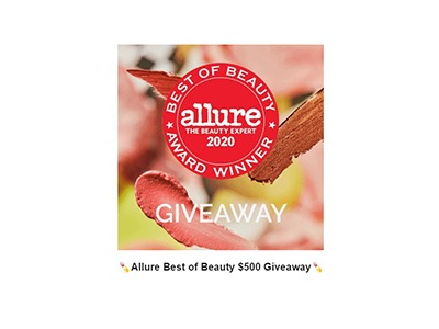 Allure Best of Beauty $500 Giveaway
