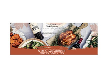 Farnhouse Friendsgiving Sweepstakes