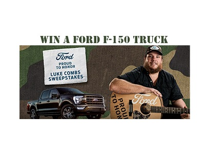 Ford Proud To Honor Luke Combs Sweepstakes