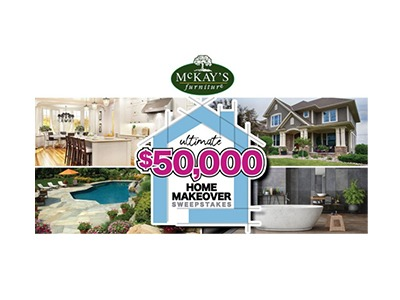 McKay's Furniture Ultimate Home Makeover Sweepstakes