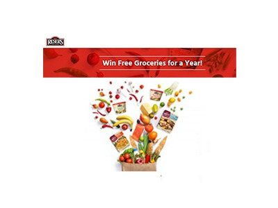 Reser's Free Groceries For A Year Sweepstakes